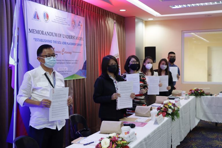 Quezon City University Establishes Job Placement Office